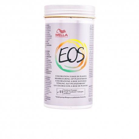 Coloración Vegetal EOS Nº11 Tandoori Wella 120gr