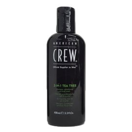 Champú American Crew 3 en 1 Tea Tree 100ml