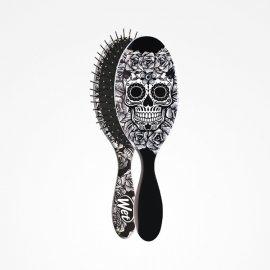 Cepillo Wet Brush-Pro Oval Sugar Skull White Perfect Beauty