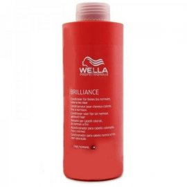 Acondicionador Wella care brilliance color fino/normal 1000ml
