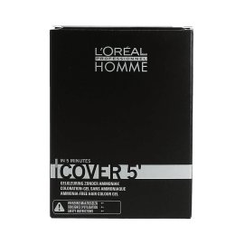 Tinte Loreal Homme Cover 5' Sin Amoniaco Nº3 50ml