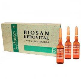Liheto Biosan Ampollas Keratina Kerovital 8x10ml